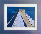 """El Castillo, Chichen Itza"" 2005 oil on canvas."